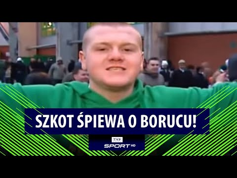 Kibic Celtiku Glasgow śpiewa o Arturze Borucu / Celtic fan singing about Artur Boruc