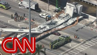 Pedestrian bridge at Florida International University collapses - CNN