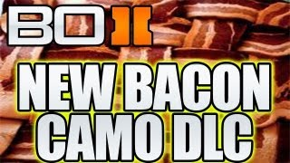 "BO2 - ""New Bacon Camo DLC Announced"" Nuketown Free, (Black Ops 2 Micro transactions)"