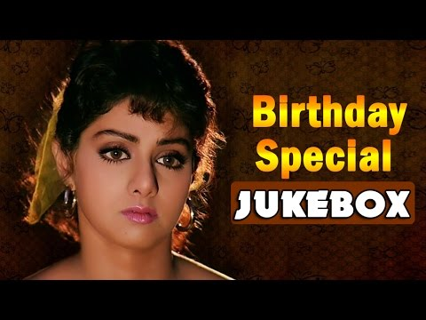 Actress Sridevi Super Hit Video Songs Jukebox || Back to Back Video Songs