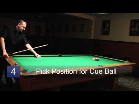 How To Rack & Break in Pool : Billiards Lessons