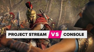 Project Stream compared to a console - CNETTV