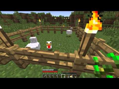Minecraft Tutorial: #5 - Farma pšenice, parenje životinja