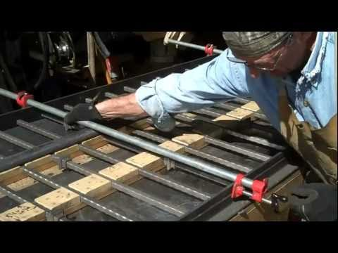 How-to Weld  Iron Railings  Made Easy by Mitchell Dillman