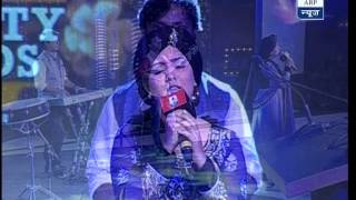 Harshdeep Kaur performs in 'Best City Awards' programme - ABPNEWSTV
