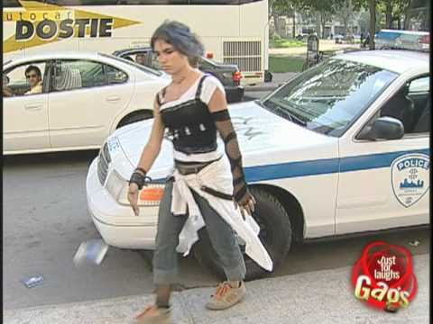Police Cruiser Graffiti Hidden Camera Prank