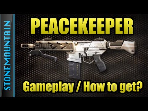Black Ops 2 Peacekeeper Gameplay Review Tips Stats | How to get Peacekeeper | Hydro Gameplay New Gun