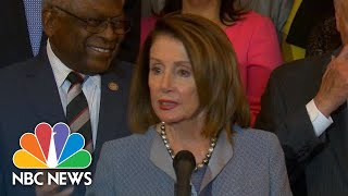 Nancy Pelosi Announces 'Big Step To Lower Health Care Costs' | NBC News - NBCNEWS