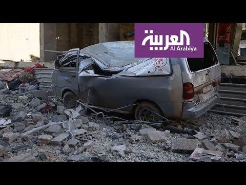 قوات النظام تصعد قصفها على غوطة دمشق