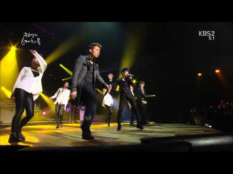 [130125] Phantom - 'Moves Like Jagger' @ KBS Yoo Hee Yeol's Sketchbook (full HD)