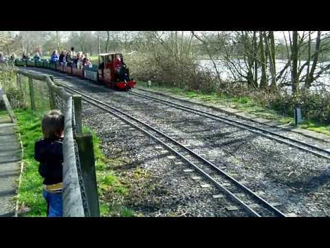 A Windy Spring Day on the Moors Valley Railway