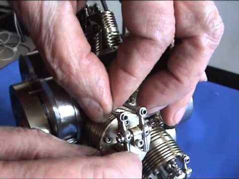 Smallest radial engine double star in the world.