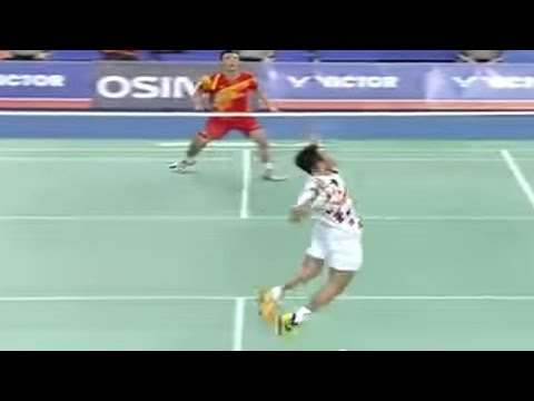 F - MS - Lee Chong Wei vs Du Pengyu - 2013 Victor Korea Open
