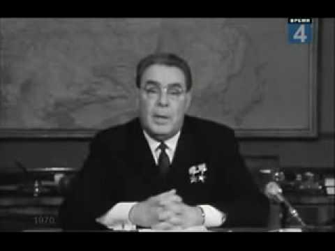 Новогоднее поздравление Л. И. Брежнева 1970 года