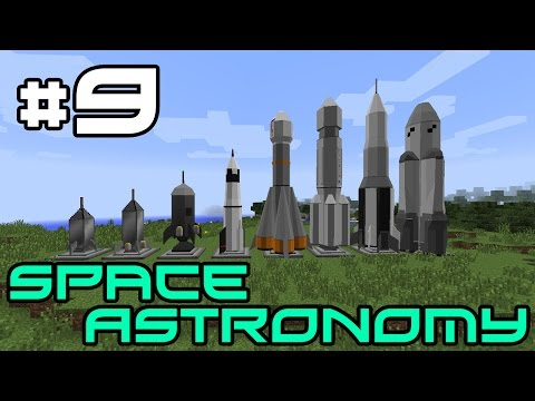 Minecraft Space Astronomy - Factory Expansion! #9