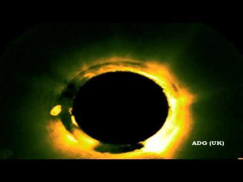 Incredible UFO Bounces Off The Sun 2012 HD