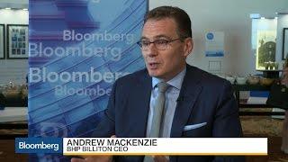 BHP Billiton CEO on Escondida Talks, Trump, Commodities - BLOOMBERG