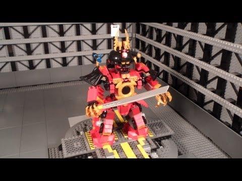 Lego 9448 Review Samurai Mech Ninjago