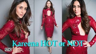HOT or NOT | Kareena in a BOLD red dress - BOLLYWOODCOUNTRY