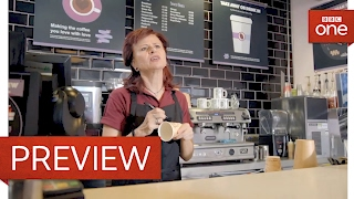 Name on cup? - Tracey Ullman's Show: Series 2 Episode 5 Preview - BBC One - BBC
