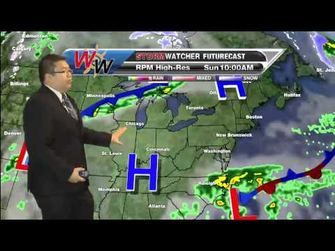 Saturday 4/19/14 AM Forecast