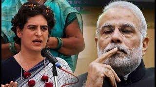Priyanka Gandhi  in Lucknow- 16 घंटे चली लंबी बैठक- राहुल गांधी का मुकाबला पीएम नरेन्द्र मोदी से है - ITVNEWSINDIA