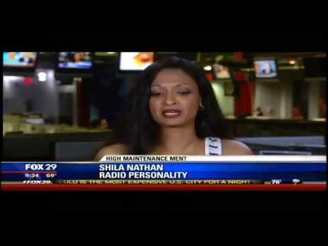 Shila on Fox 29: Are Men High Maintenance?