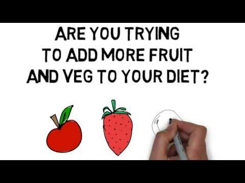 How To Get More Fruit And Veg In Your Diet