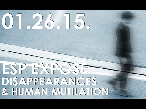 ESP and Disappearances on The Gralien Report