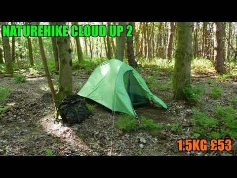 Naturehike cloud up 2 ultralight tent 1 5kg and testing my new panasonic lumix dmc-fz200