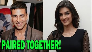 Kriti Sanon Confirms being a part of Akshay Kumar starer 'Singh Is Bling'