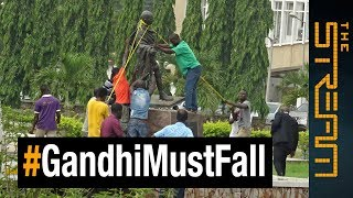 #GandhiMustFall: Was Mahatma Gandhi racist? - ALJAZEERAENGLISH