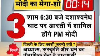 Deshhit: PM Modi to conduct mega road show in Varanasi - ZEENEWS