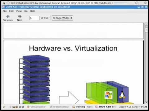 [English CBT] - Virtualization - XEN - 03 - Discussion on Virtualization Technologies