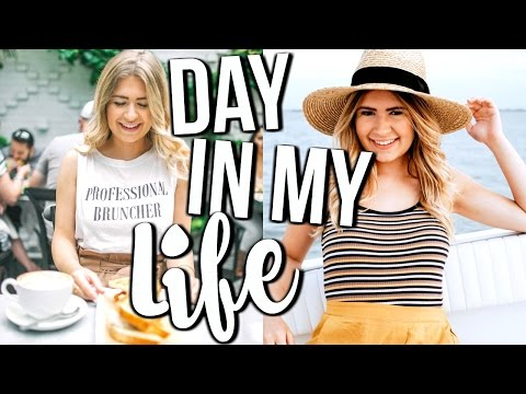 Day In My Life: Brunch, Boating + HAUL!