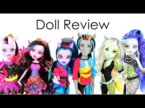 Doll Review:  Monster High Freaky Fusion
