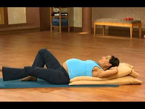10 minute prenatal pilates part 2