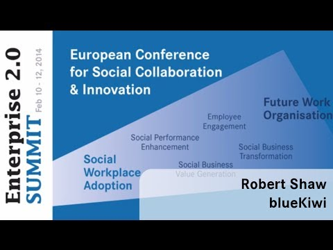 #e20s 2014 | Robert Shaw, blueKiwi | Leading the Transformation & Change Process