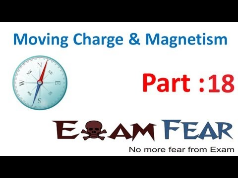 Physics Moving Charge & Magnetism part 18 (Magnetic field due to circular loop) CBSE class 12