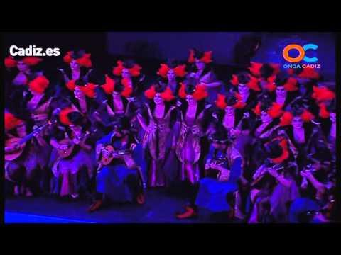 La agrupación Aquelarre llega al COAC 2014 en la modalidad de Coros. En años anteriores (2013) concursaron en el Teatro Falla como Cantina Las manitas, consiguiendo una clasificación en el concurso de Cuartos de final.