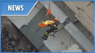 Genoa Bridge Collapse: the rescue effort continues - THESUNNEWSPAPER