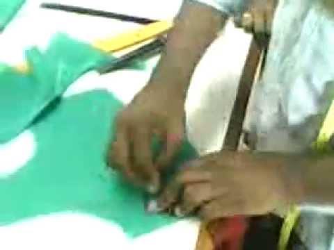 Saree Blouse Cutting Method