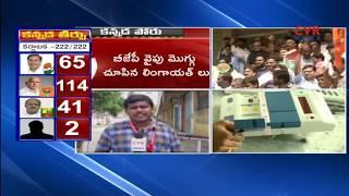 కమలానిదే కర్ణాటక : Karnataka Election Results Live Updates : BJP takes lead in early trends | CVR - CVRNEWSOFFICIAL