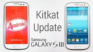 Galaxy S3 (I9300) Kitkat 4.4 Update (Samsung Touchwiz based) - How to Flash/Install
