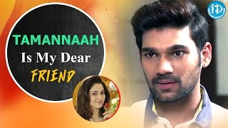 Tamannaah Is My Dear Friend - Bellamkonda Sreenivas || Speedunodu Movie - IDREAMMOVIES