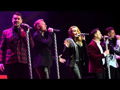 Boyzone - Love me For A Reason &  No Matter What - Liverpool 8th December 2013