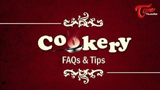 Cookery Tips & FAQs   Kakarakaya Recipes without Bitter - TELUGUONE