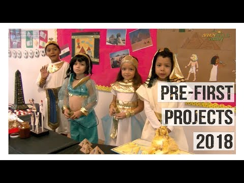 Pre First Projects 2018
