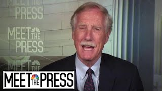 Full King Interview: 'We had the votes' for border wall - NBCNEWS