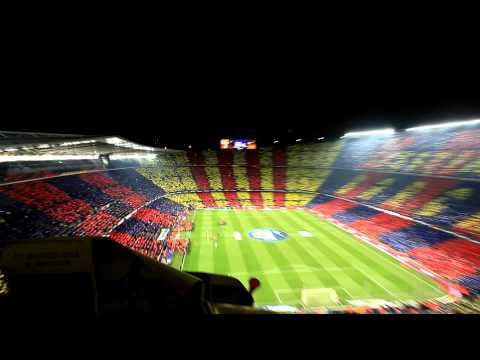 Barcelona Real Madrid 29.11.2010 Barca Hymn A Capello